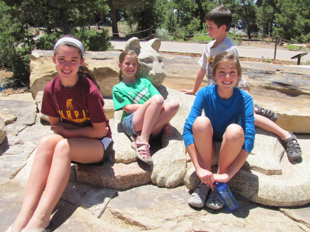 Grand Canyon Rim to Rim with kids: Exploring the South Rim