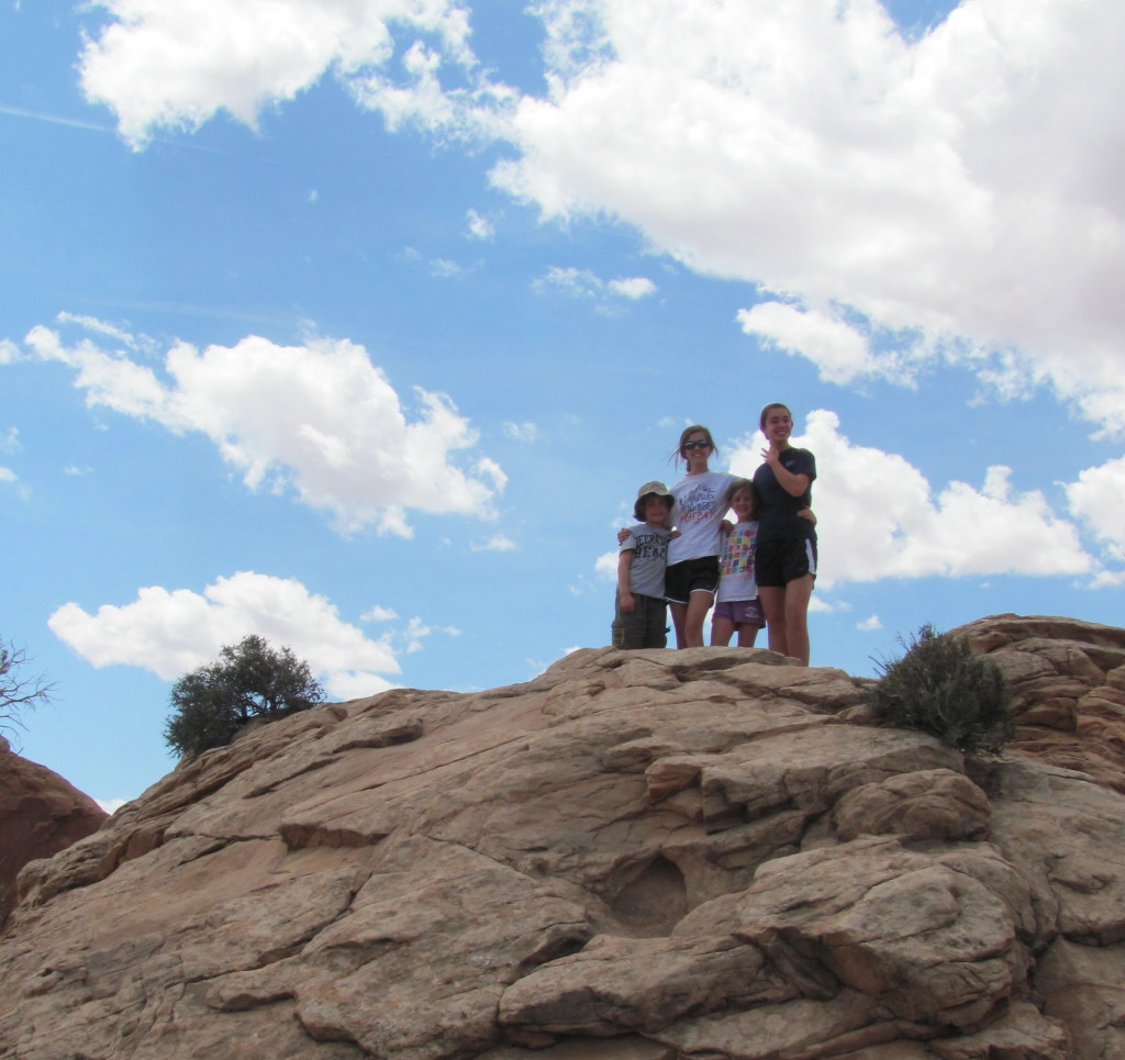 Hiking to Mesa Arch in Canyonlands National Park