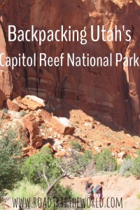 Cassidy Arch and Chimney Rock: Backpacking Capitol Reef