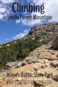 Climbing South Turner Mountain in Baxter State Park